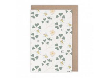Carte Be my bee - Monsieur Papier