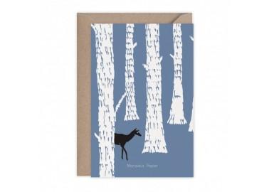 Carte Biches - Monsieur Papier