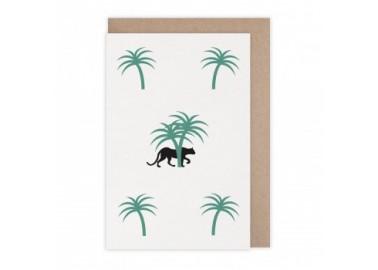 Carte Palmiers - Monsieur Papier