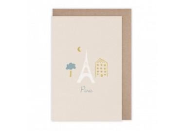 Carte Paris - Monsieur Papier