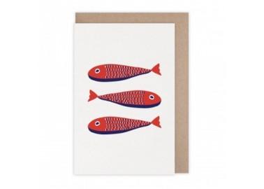 Carte Sardines - Monsieur Papier