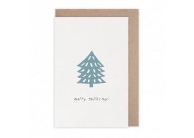 Carte Merry Christmas tree - Monsieur Papier
