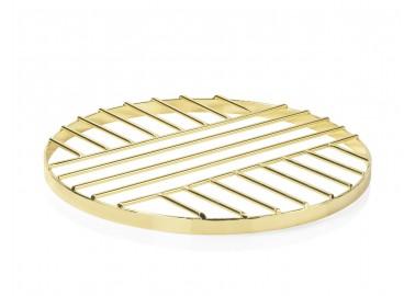 Dessous de plat en métal doré - Andrea House