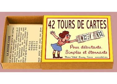42 Tours de cartes - Marc Vidal
