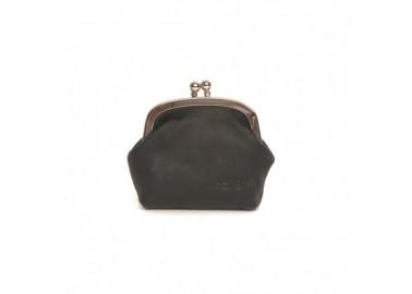 Porte-monnaie Mini Bibi noir - Nat&Nin
