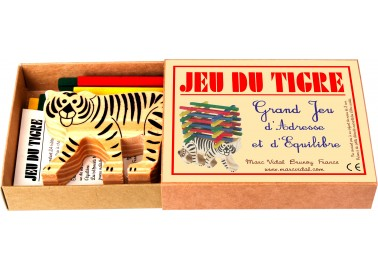 Jeu du Tigre - Boîte - Marc Vidal