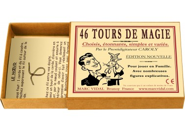 46 Tours de Magie - Boîte - Marc Vidal