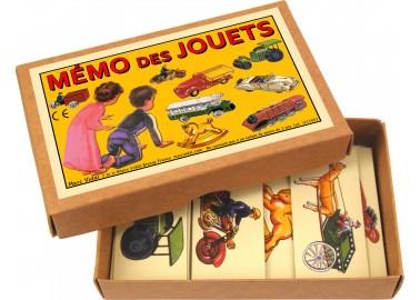 Mémo des Jouets - Boîte - Marc Vidal