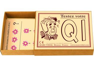 Testez votre QI - Boîte - Marc Vidal