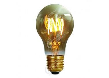 Ampoule Filament Led 4 Loops - Allumée - Girard Sudron