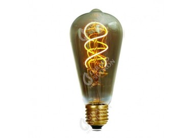 Ampoule Edison Filament Led twisted - Girard Sudron
